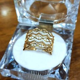 Anel em Ouro 18k Cravejado - Helder Joalheiros