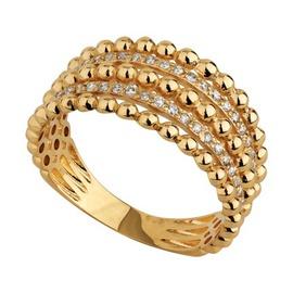 Anel em Ouro Amarelo 18k com Diamantes - Helder Joalheiros