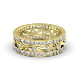 Anel Cravejado com Diamantes em Ouro 18k - Helder Joalheiros