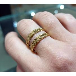 Aparador em Ouro 18k Trabalhado diamantado - Helder Joalheiros
