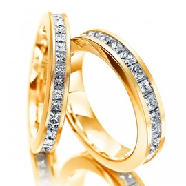 Aparador de Aliança com Diamantes Prince - Helder Joalheiros