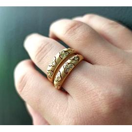 Aparador em Ouro 18k Trabalhado com Diamantes - Helder Joalheiros