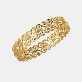 Bracelete Mônaco Ouro 18k 750 - Helder Joalheiros