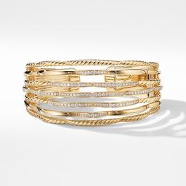 Bracelete em Ouro 18k 750 Vazado e Trabalhado com ... - Helder Joalheiros