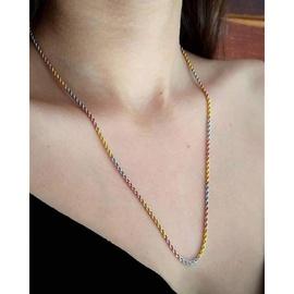 Cordão em Ouro 18k Tricolor - Helder Joalheiros