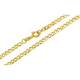 Corrente Grumet Chata 60 cm em Ouro 18k - Helder Joalheiros