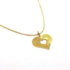 Pingente Coração em Ouro 18k - Helder Joalheiros
