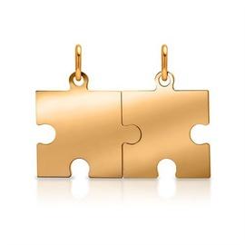 Pingente Quebra cabeça em ouro 18k - Helder Joalheiros