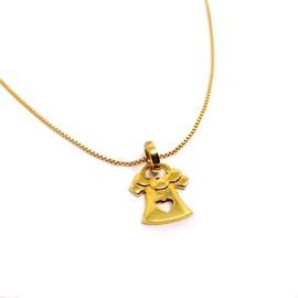 Pingente em Ouro 18k Amarelo Vestido - Helder Joalheiros