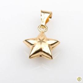 Pingente 18k Estrela Desenhada - Helder Joalheiros