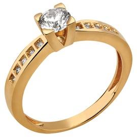 Solitário Com Diamantes - Helder Joalheiros