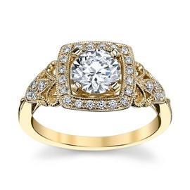 Solitário com Diamantes de 50 Pontos - Helder Joalheiros