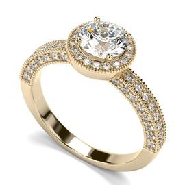 Solitário com Diamantes de 80 Pontos - Helder Joalheiros