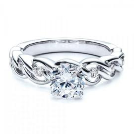 Solitário de Noivado com Diamante de 30 Pontos co... - Helder Joalheiros