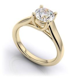 Solitário com Diamante de 50 Pontos - Helder Joalheiros