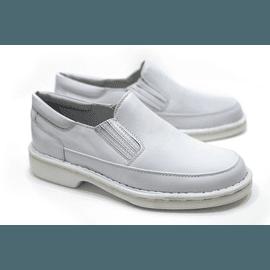 Sapato Anti Stress Alcalay - 0709 Branco - CALÇADOS ALCALAY