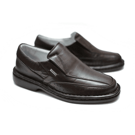 Sapato Anti Stress Alcalay - 0751 Café - CALÇADOS ALCALAY