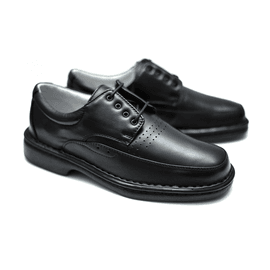 Sapato Anti Stress Alcalay - 0761 Preto - CALÇADOS ALCALAY
