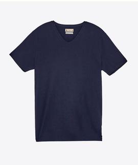 T-shirt Azul Gola V - RIVERS
