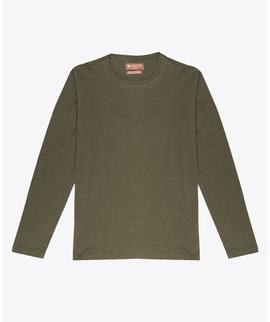 T-shirt Verde Manga Longa - RIVERS