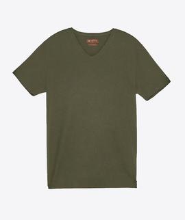 T-shirt Verde gola V - RIVERS
