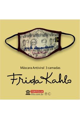 Máscara Poética Frida Kahlo Desconstrução Tripla C... - Tertúlia Produtos Literários