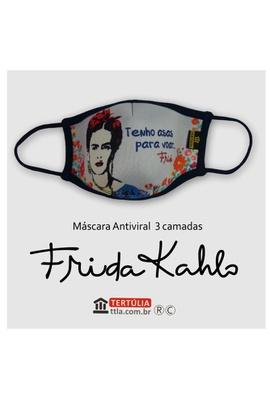 Máscara Poética Frida Kahlo Asas Tripla Camada - C... - Tertúlia Produtos Literários