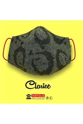 Máscara Poética Clarice - Tertúlia Produtos Literários