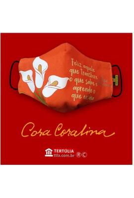 Máscara Poética Cora Coralina - Professor - Tertúlia Produtos Literários