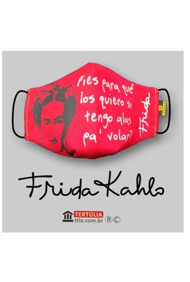 Máscara Poética Frida Kahlo - Alas - Tertúlia Produtos Literários