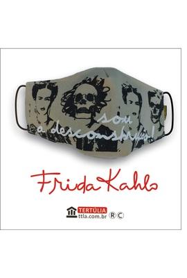 Máscara Poética Frida Kahlo - Desconstrução Cru - Tertúlia Produtos Literários