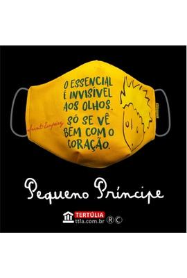 Máscara Poética Pequeno Príncipe - Amarela - Tertúlia Produtos Literários