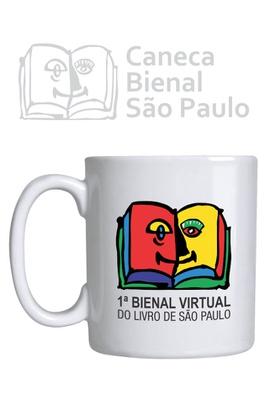Caneca Bienal Virtual do Livro de São Paulo - Tertúlia Produtos Literários