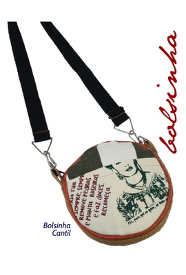 Bolsinha Cantil - Tertúlia - Tertúlia Produtos Literários