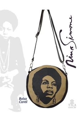 Bolsa Cantil Nina Simone cru - Tertúlia Produtos Literários