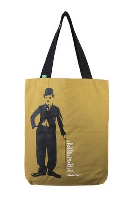 Bolsa Chaplin P Cru - Tertúlia Produtos Literários