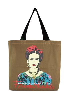 Bolsa Frida Kahlo G Cru - Tertúlia Produtos Literários
