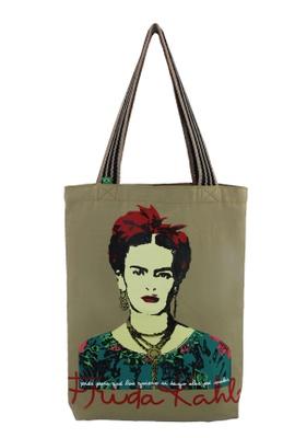 Bolsa Frida Kahlo Piés Cru - Tertúlia Produtos Literários