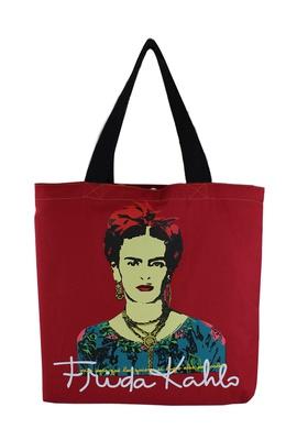 Bolsa Frida Kahlo Píes Vermelha - Tertúlia Produtos Literários