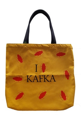 Bolsa Kafka Amarela - Tertúlia Produtos Literários
