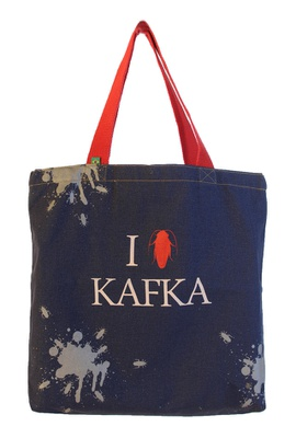 Bolsa Kafka Azul - Tertúlia Produtos Literários