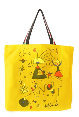 Bolsa Miró G Amarela - Tertúlia Produtos Literários