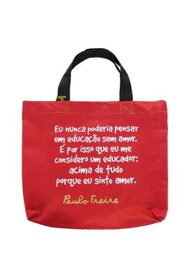 Book Bag Paulo Freire - Educação - Tertúlia Produtos Literários