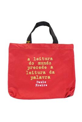 Book Bag Paulo Freire - Leitura - Tertúlia Produtos Literários