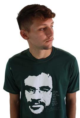 Camiseta Renato Russo - Vento no Litoral Verde Mus... - Tertúlia Produtos Literários