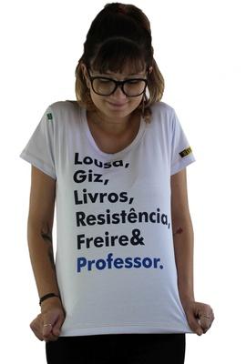 Babylook Freire e Professor Branca - Tertúlia Produtos Literários
