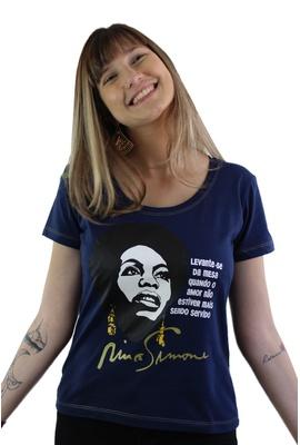 Babylook Nina Simone Amor Marinho - Tertúlia Produtos Literários