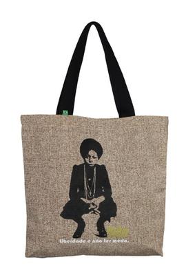 Bolsa Nina Simone Liberdade G Cru - Tertúlia Produtos Literários