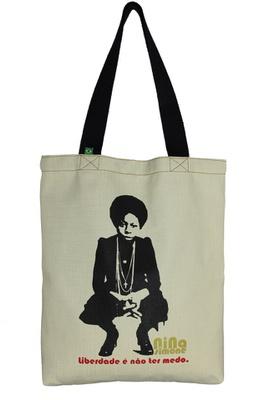 Bolsa Nina Simone Liberdade P Cru - Tertúlia Produtos Literários