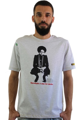 Camiseta Nina Simone Liberdade Gelo - Tertúlia Produtos Literários